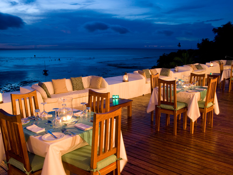 Ibo Island Dining<br /> Here
