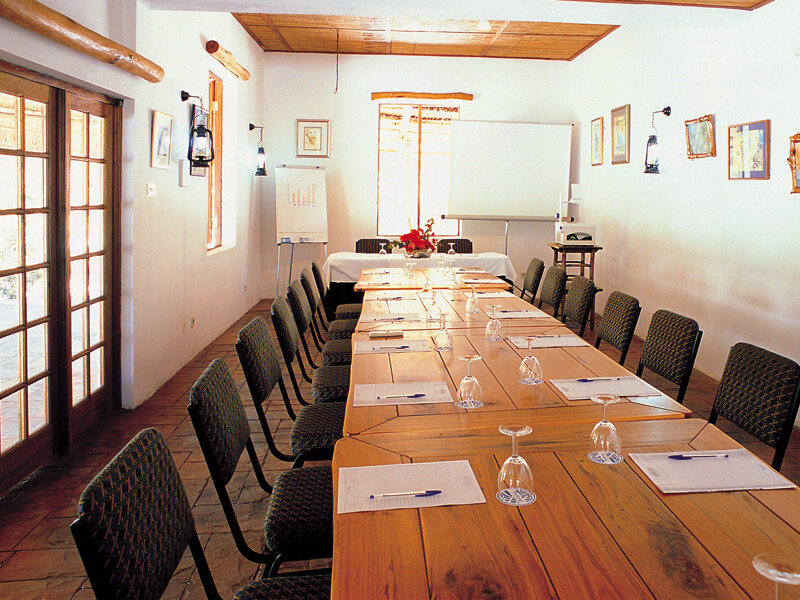 Bazaruto Island Lodge Conference Room