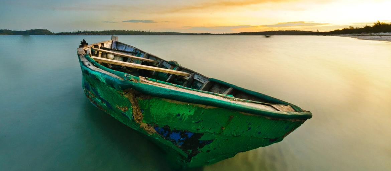 Boat at Bilene