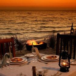 Dugong Beach Lodge Romantic Beach dinner