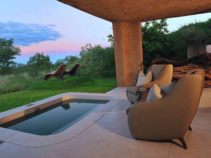 Sabi Sabi Earth Lodge - Suite Patio