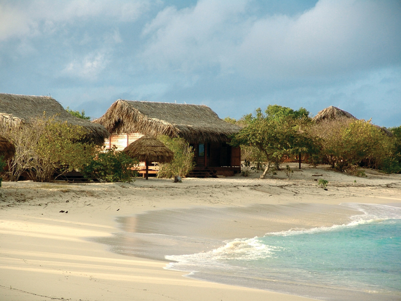 Medjumbe Private Island Beach Chalet View