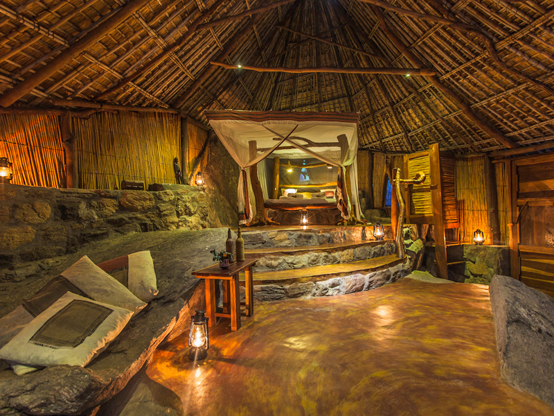 Nkwichi Lodge Interior
