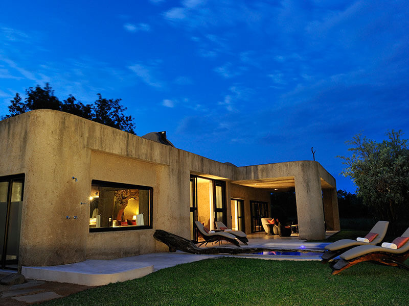 Sabi Sabi Earth Lodge Amber Presidential - Exterior