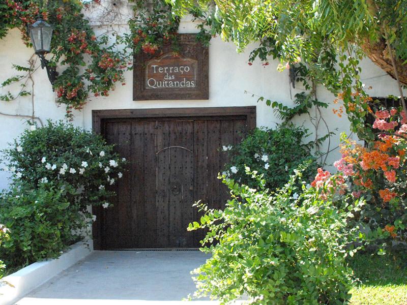 Terraço das Quitandas entrance