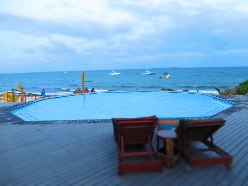 Vila do Paraiso pool view