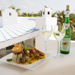 Villa Santorini Romantic Meal