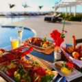 Dining in Mozambique