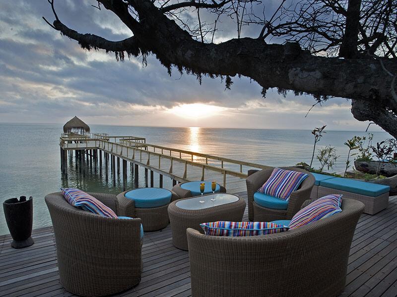 dugong deck sunset