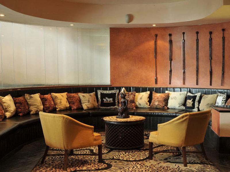 Pestana Rovuma Hotel Circular Lounge Area