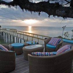 Dugong Beach Lodge Outdoor Lounge