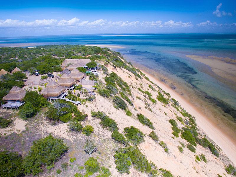 Azulik Lodge aerial view