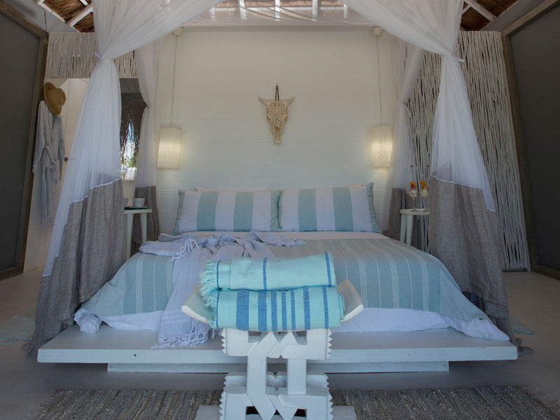 Azulik Lodge bed
