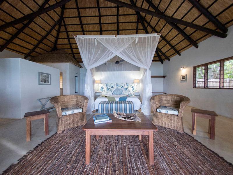 Ossimba Beach Lodge Villa interior