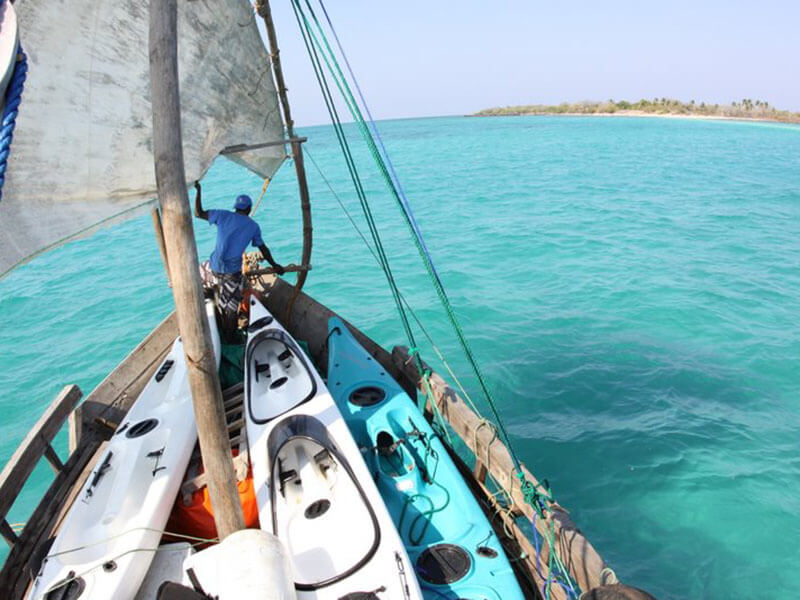 Mobile Island Hopping Crystal clear waters