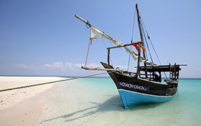 Mobile Island Hopping Safaris by Dhow