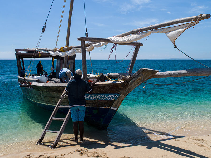 Mobile Island Hopping Dhow