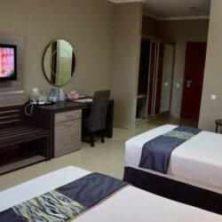 Hotel Milenio bedroom