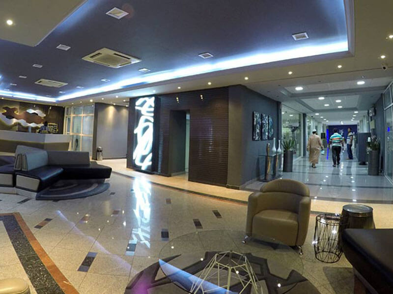 Hotel Milenio lobbey