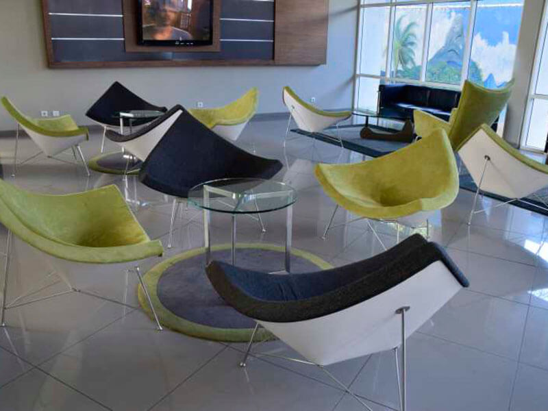 Hotel Milenio seating area