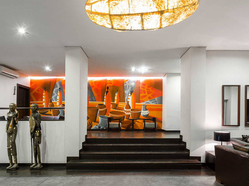 Lobby of Hotel Tivoli Beira