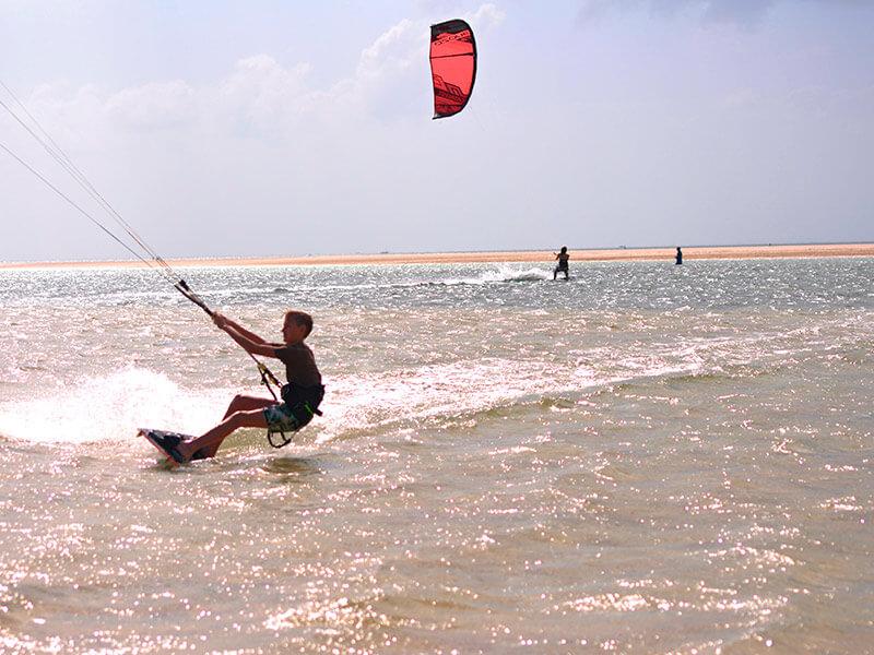 vilanculos beach lodge Kiting