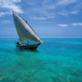 Dhow at Sea