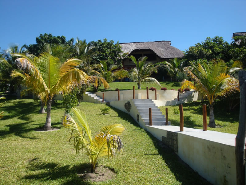Vila Do Paraiso walkway