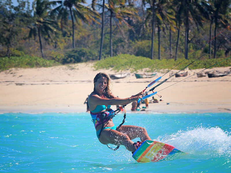 kite surfing mozambique