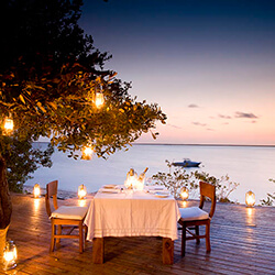 Rio Azul Candlelit Dining