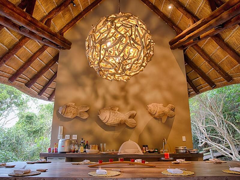Villa Ukuthula dining
