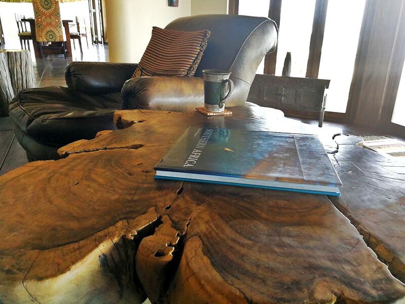 Lounge area Villa Ukuthula